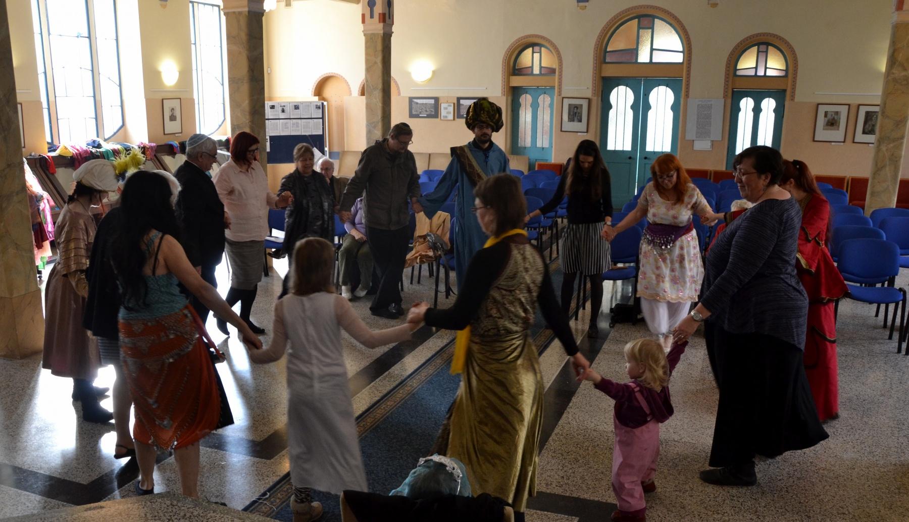 Izraelské tance v  Děčíně
